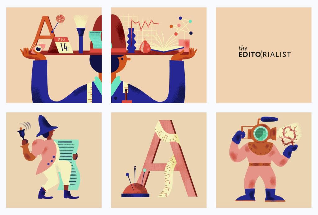publication instagram profil Charlotte Molas illustrations The Editorialist